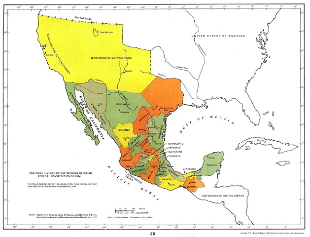 mexico before the war