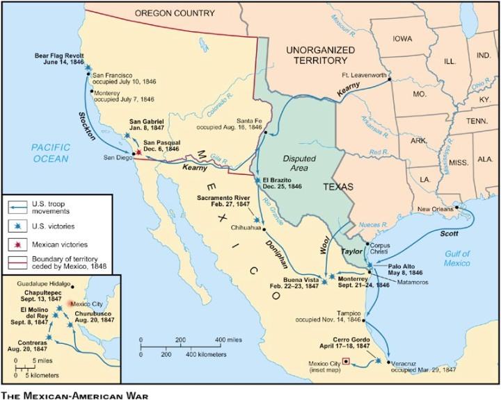 us mexico campaigns